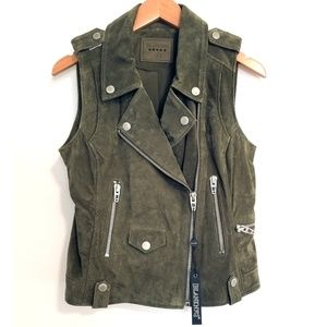 NEW Blank NYC Suede Vest